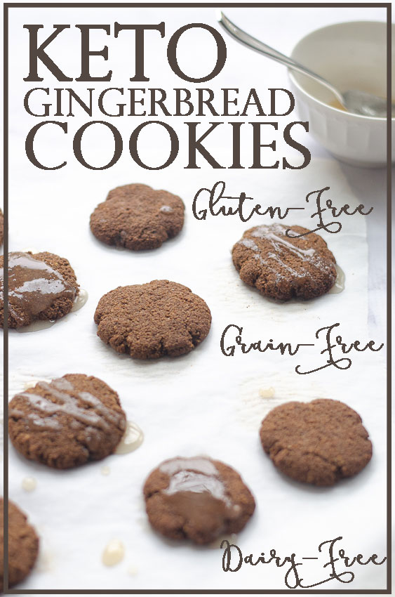 Fluffy Gingerbread Cookies Paleo Grain Free The Harvest Skillet
