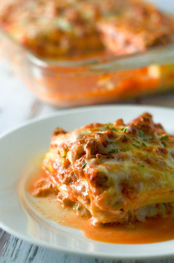 Summer Squash Lasagna (Low-Carb, Gluten-Free) - The Harvest Skillet