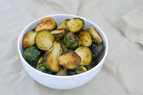 Are you looking for a delicious side dish recipe? These pan-fried honey vinegar brussel sprouts are the PERFECT side dish! They are sweet, salty and healthy! Keto, Paleo, low-carb.